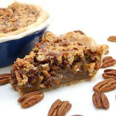 Pecan Pie (love!). #food #pies #desserts