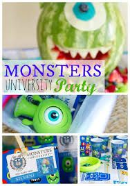 monsters university birthday party - Buscar con Google