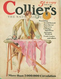 Collier's The National Weekly (October 26, 1939) by John Holmgren