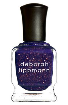 this nail polish is holographic!