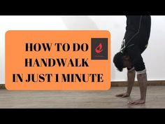 How To Do A Handwalk Like A Pro in 1 Minute - YouTube Parkour Workout, Like A Pro, Men Quotes, Fitness Motivation Quotes, Workout Videos, Motivational Quotes, Channel, Feelings, Youtube
