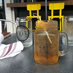 Our #workcation has begun. Hanging @casksocial to unwind.