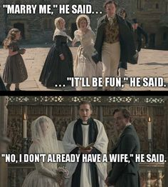 Rochester said a lot of things! Funny Jane Eyre meme - Who else loves classical literature? I Love Books, Good Books, Film Anime, Bronte Sisters, Classic Literature, Classic Books, Lol, Cinema, Pride And Prejudice