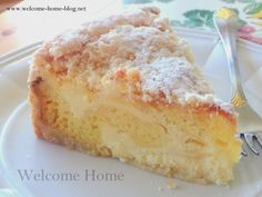 Lemon Cream Cake...light and airy and so moist. Has a wonderful cream filling, all with a hint of lemon!!