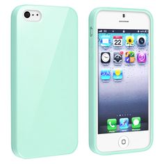 @Overstock - This is a BasAcc mint green jelly TPU rubber skin case for Apple® iPhone 5. Protect your cell phone against bumps and scratches with this accessory set.http://www.overstock.com/Electronics/BasAcc-Mint-Green-Jelly-TPU-Rubber-Skin-Case-for-Apple-iPhone-5/7467733/product.html?CID=214117 $5.85