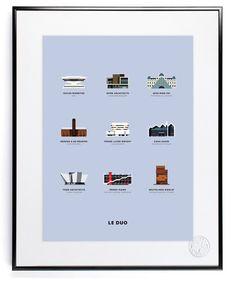 Journal - Image Republic: Une nouvelle série d'affiches illustrées par LE DUO.