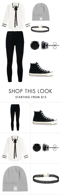 R.O.A by rosay-cii on Polyvore featuring Marc Jacobs, Nobody Denim, Converse, BERRICLE, Miss Selfridge and adidas