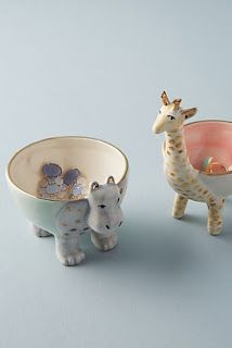 Sweet Safari Trinket Dish is part of Unique Home Accessories Window - Whether placed on your desk to hold pins and clips or set on your dresser as a home for post earrings and rings, this sweetly designed catchall is as delightful as it is functional Unique Home Accessories, Unique Home Decor, Safari, Jewelry Dish, Cute Jewelry, Ceramic Animals, Ceramic Art, Idee Diy, Isle Of Man