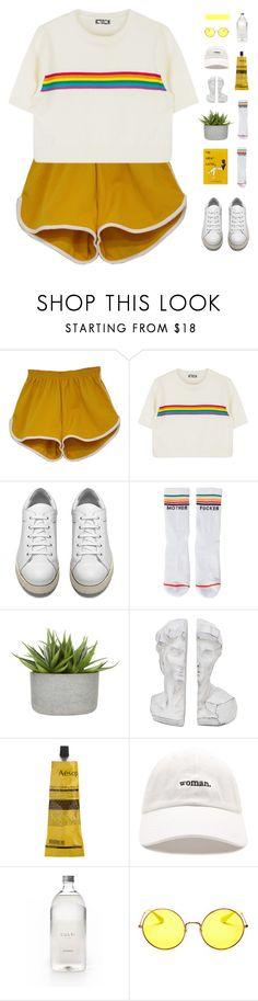 """uber_wya.."" by junglex ❤ liked on Polyvore featuring Acne Studios, Mother, Aesop, Forever 21, Culti and Ray-Ban"