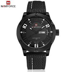 Luxury Brand Men Sports Watches Men's Quartz Date Clock Fashion Casual Leather Strap Army Military Wrist Watch Male Relogio