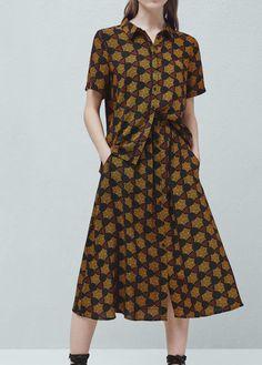 Flowy printed skirt | MANGO