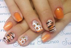* Mani Pedi, Pedicure, Spring Nails, Summer Nails, Nail Tips, Nail Art Designs, Design Trends, Finger, Beauty
