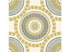 Kravet Guaranteed 31371.540 - Kravet-edesigntrade - New York, NY, 31371.540,Kravet,Jacquards,0026,Yellow, Blue, White,Blue, Yellow, White,Heavy Duty,S,WASHED, ACRYLIC BACKED, TEFLON FINISH,UFAC Class 1,Up The Bolt,Guaranteed in Stock,USA,Ethnic, Medallion/Motif,Upholstery,Yes,Kravet Guaranteed, Kravet Contract,No,Yes,40,50,69,4,4,3,174,300,3,Wyzenbeek Cotton Duck - 33,000 Double Rubs,Wyzenbeek up to 500K,