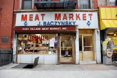 East Village Meat Market & Deli (J Baczynsky Meat Market) - NYC