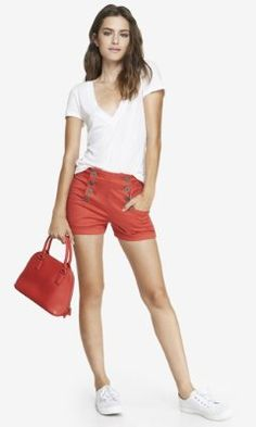 2 INCH LINEN BLEND SAILOR SHORTS | Fashion/Express | Pinterest ...