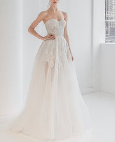 Reem Acra is a renowned international designer known for her breathtaking collections in Ready-to-Wear and Bridal. Reem Acra Wedding Dress, Reem Acra Bridal, Wedding Dresses, Bride Groom, Wedding Bride, Hope Chest, Ready To Wear, New York, Lady