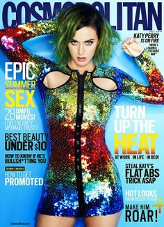 MyMy .. The No Feminist Blog: Katy Perry en couverture du Cosmopolitan Magazine ...