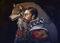 creature damntorren imperium inquisition male wolf