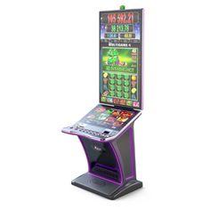 """Ia-ti ca aliat sigur in salile de jocuri de noroc noua vedeta: S-32/55! Monitorul vertical de 55"""" cu rezolutie 4K, alaturi de colectii de jocuri extrem de indragite, vor forma pilonul unui #newlevel #entertainment. Noroc, Arcade Games, Romania, Monitor, Entertainment, Entertaining"""