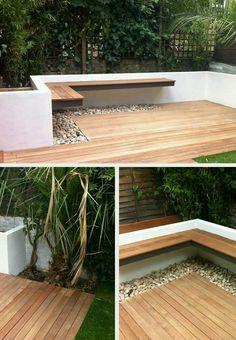 Studio Satta // London Garden Designers - Another! Landscape Design, Garden Design, Balkon Design, Small Courtyards, London Garden, Contemporary Garden, Garden Seating, Garden Care, Outdoor Rooms
