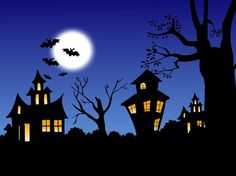 A List of the Best Halloween Wallpapers for Your Computer: Halloween Night by WallpaperStock