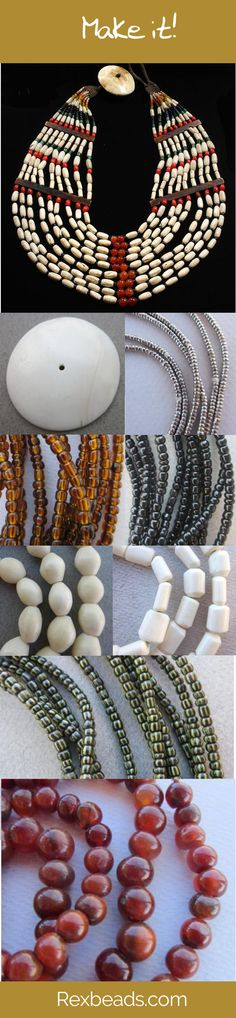 Direct Importer of Authentic Antique & Vintage African Beads Bead Necklaces, Bead Jewelry, Stone Beads, Glass Beads, African Beads Necklace, Arts And Crafts, Diy Crafts, Black Seed, Beading Projects
