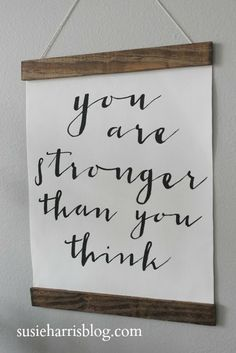 Stronger and a giveaway! susieharrisblog.com