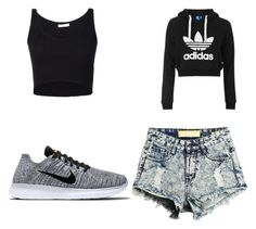 """""""Untitled #45"""" by jalaya06 on Polyvore featuring 321, Topshop and NIKE"""