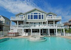 Not Avail - 10k in June.  Twiddy Outer Banks Vacation Home - Seascape - Duck - Oceanfront - 7 Bedrooms
