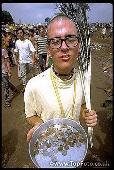 Woodstock Festival '69 Hare Krishna. Bethel, New York