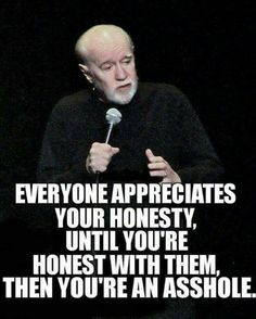 George Carlin was my favorite comedian and he was amazing!