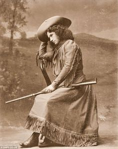 Annie Oakley 'Western Girl': A 130-year-old shotgun once wielded by famed Wild West gunslinger Annie Oakley sold at auction for $293,000