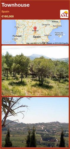 Townhouse for Sale in Spain - A Spanish Life Andorra, Valencia, Portugal, Barcelona, Old Town, Townhouse, Golf Courses, Spanish, Old Things