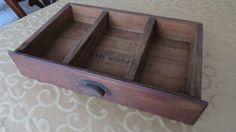 Vintage Desk Drawer/Display Shelf by PrairieVintageFinds on Etsy