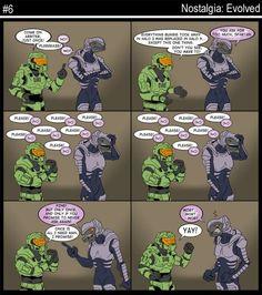 Ha, ha Halo humour!