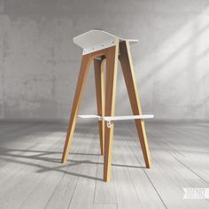 C5 bar stool by ODESD2, via Behance