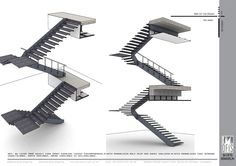 Fire Stair Dimensions  #stairs Pinned by www.modlar.com