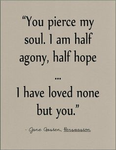 anne elliots personal growth in the novel persuasion by jane austen In one of her last letters she , instead, referred to anne elliot asa  actually, it's  about wentworth's journey and growth of self-awareness.