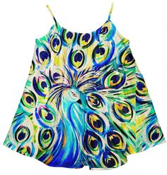 Kids Tent Dress. Artist and Designer Kimberly Sumerel.