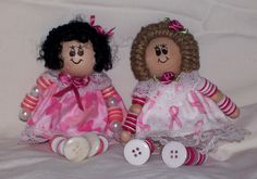 Button dolls. $12.00, via Etsy.