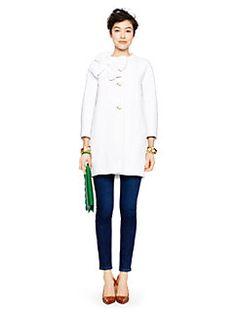 tweed dorothy coat by kate spade new york