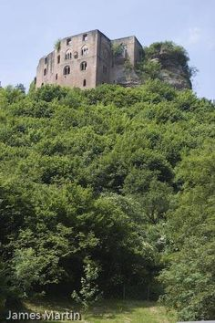 The real Frankenstein Castle in Germany. I got to see one time, driving by..freaky.
