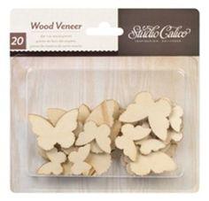 Amazon.com - Classic Veneer Butterflies - Unfinished Craft Wood