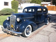 1936 Buick Special in Beautiful Blue!