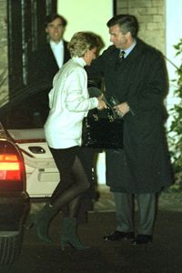 Pretty rare picture of Diana