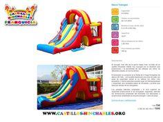 Alquiler de parques infantiles, fabricación y venta. www.castillos-hinchables.org