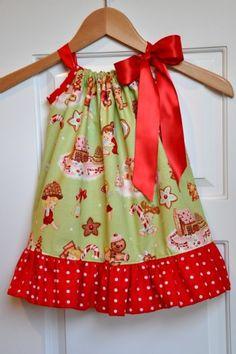 Girls Christmas Dresses Retro Pillowcase Dress Personalize It! Girls Christmas Dresses Retro Pillowcase Dress Personalize It! Pillowcase Dress Pattern, Pillowcase Dresses, Toddler Dress, Baby Dress, Little Girl Dresses, Girls Dresses, Maxi Dress Tutorials, Girls Christmas Dresses, Christmas Clothing