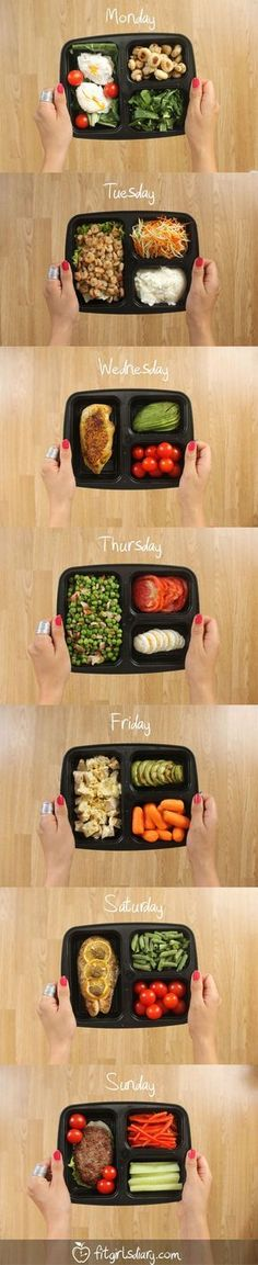 7 Days Of Healthy Meal Prep Ideas – Ready To Eat Meals and Protein On The Go Recipes #backtoschool #healthy