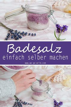 Badesalz selber machen – 3 DIY Rezepte zum Entspannen You want to make your bath salt yourself? We have the best recipes for homemade bath salts for you. 4 great salts against sore muscles, for relaxation and fragrant winter bath salts it Yourself Sugar Scrub Diy Peppermint, Sugar Scrub Homemade, Sugar Scrub Recipe, Diy Beauté, Easy Diy Crafts, Zucker Schrubben Diy, Bath Salts Recipe, Easy Homemade Gifts, Dark Circle