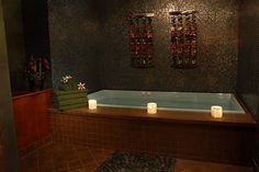 Beautiful asian bathroom- Graceful Expression Asian Bathroom Design with Asian Style